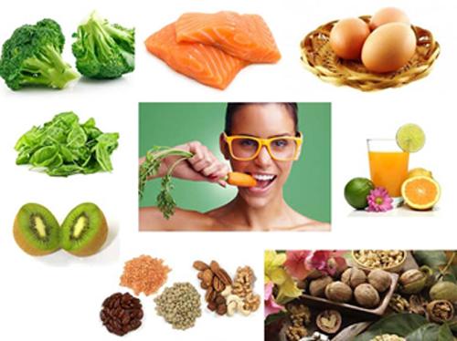 Ăn gì tốt cho mắt cận thị