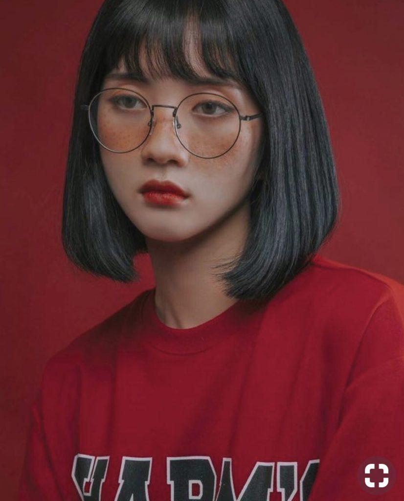 gọng kính cận nữ dep