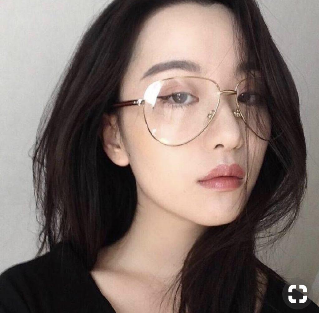 gọng kính cận nữ đẹp hà nội