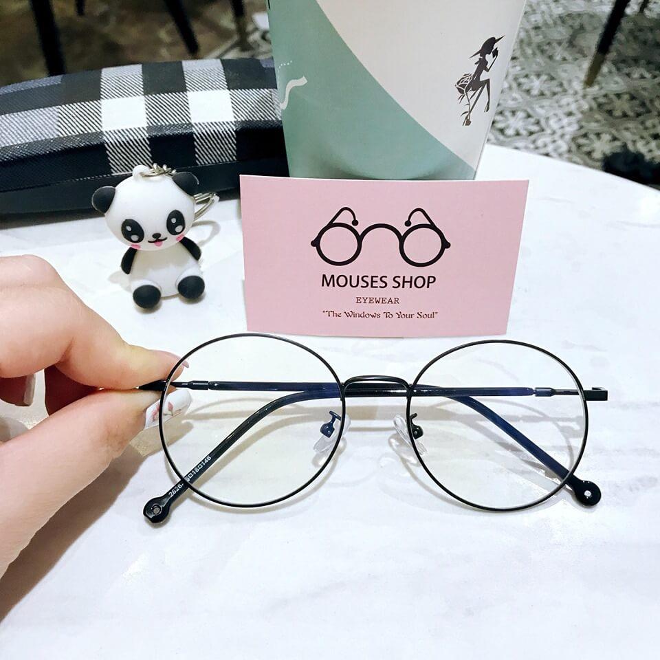 kính mắt tròn nam nữ